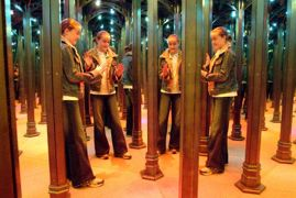Can you find yourself in the mirror maze