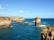 The Great Ocean Road in Victoria on the south coast of Australia